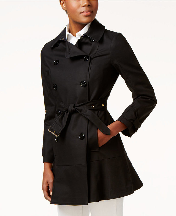 Kate Spade Kate Spade New York Double-Breasted Trench Coat