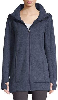 ST. JOHN'S BAY SJB ACTIVE Active Sweater Fleece Jacket