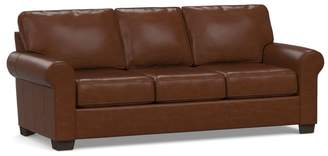 Pottery Barn Buchanan Roll Arm Leather Sofa Collection