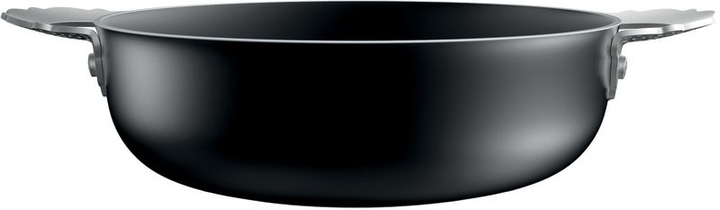Alessi Dressed, low casserole with two handles