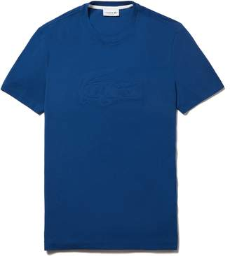 Lacoste Men's Crocodile Embroidery Pique T-Shirt