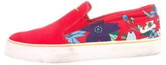 Nike Canvas Slip-On Sneakers