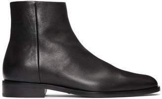 Saint Laurent Black Montaigne Boots
