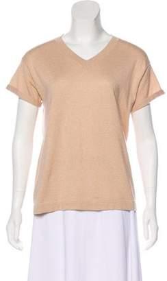 Brunello Cucinelli Metallic Cashmere Sweater w/ Tags