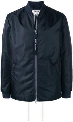 Acne Studios straight hem bomber jacket
