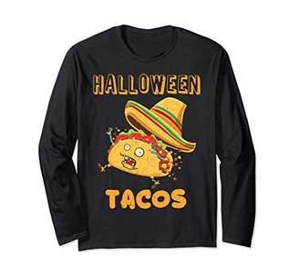 Taco Halloween Long Sleeve Costume Zombie Gift shirts