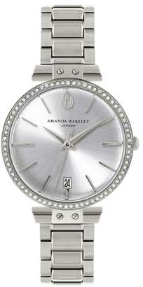 Amanda Wakeley Silver Bracelet Watch