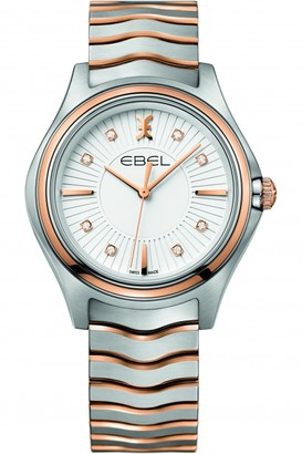 Ebel Ladies Wave Diamond Watch 1216306