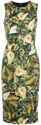 Dolce & Gabbana Abito pear print dress