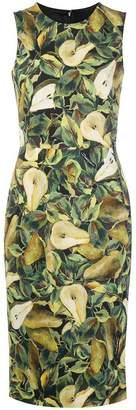 Dolce & Gabbana Abito pear print dress