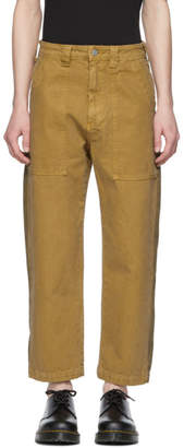 Billy Tan Patch Pocket Trousers