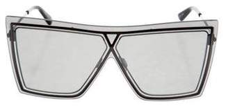 Christian Roth Tinted Oversize Sunglasses
