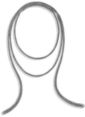 John Hardy Classic Chain Wrap Necklace