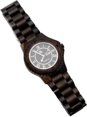 Bean & Vanilla Black Maple Wooden Watch