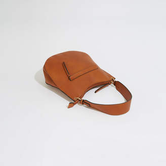 Warehouse Wide Strap Zip Front Bag