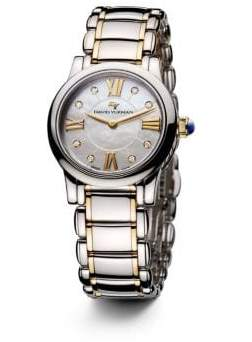 David Yurman Classic 30Mm Quartz Watch With 18K Gold And Diamonds