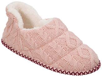 Dearfoams Sweater Knit Slip-On Slippers