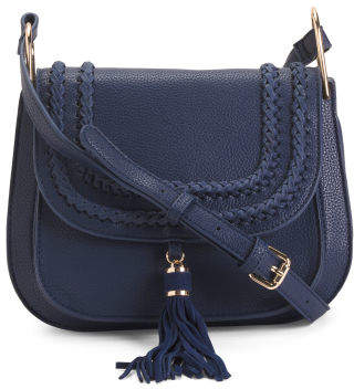 Crossbody With Suede Tassel