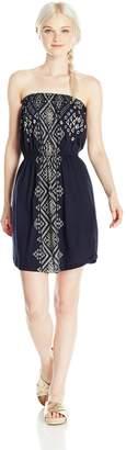 Billabong Junior's Here It is Knit Bandeau Dress