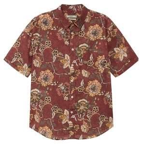 MANGO Regular-fit floral print shirt