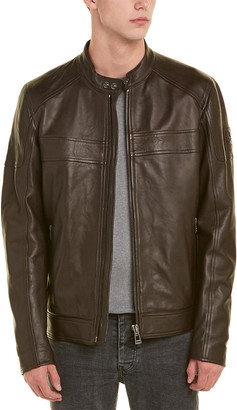 Belstaff A.Racer Leather Jacket