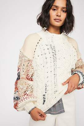 Mixed And Mended Sweater