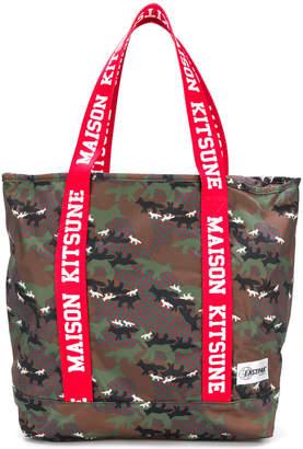 MAISON KITSUNÉ Eastpack x Flask tote bag