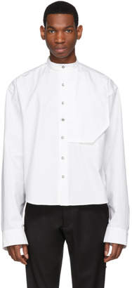 S.P. Badu White Dress Shirt