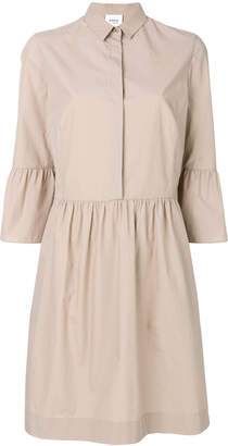 Akris flared shirt dress