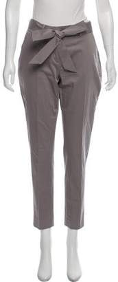 Eleven Paris Six Sash Tie Mid-Rise Pants