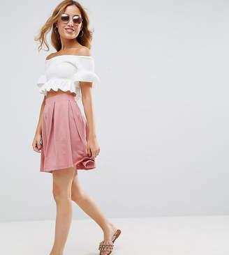 Asos Mini Skater Skirt with Box Pleats