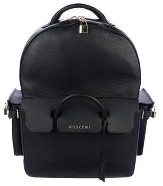 Buscemi PHD Leather Backpack black PHD Leather Backpack