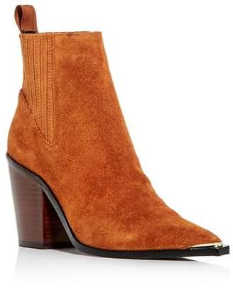Kenneth Cole Women's West Side Pointed-Toe Block-Heel Booties
