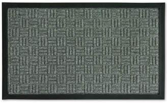 """Bacova Textured Basketweave 18"""" x 30"""" Doormat"""
