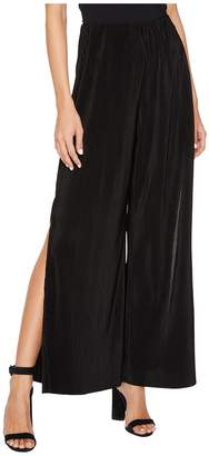 BB Dakota Bitsy Crinkled Wide-Leg Pants Women's Casual Pants