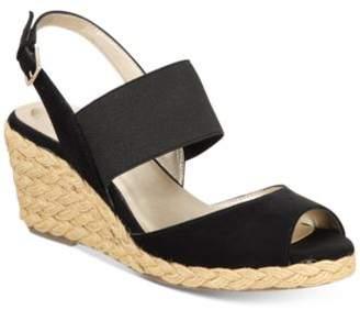 Bandolino Himeka Espadrille Wedge Sandals, Created for Macy's