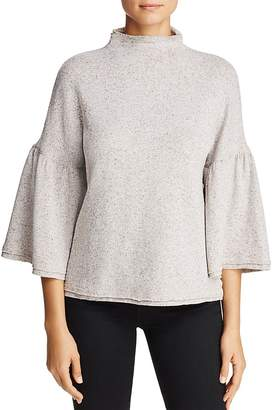 Three Dots Donegal Bell Sleeve Sweater