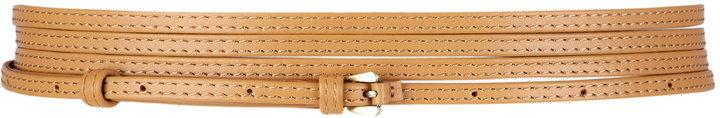 Malene Birger Rachelle Wrapped Skinny Waisted Belt