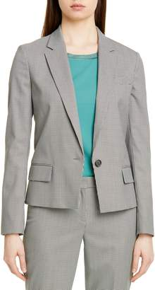 BOSS Jaseala Mini Houndstooth Jacket
