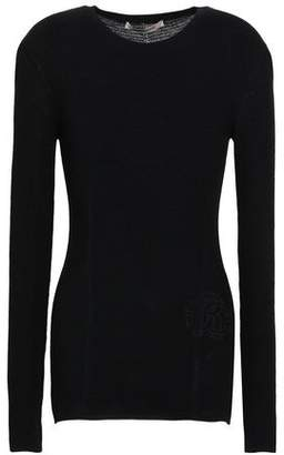 Roberto Cavalli Wool And Cashmere-blend Top