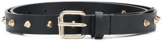 Twin-Set studded buckle belt