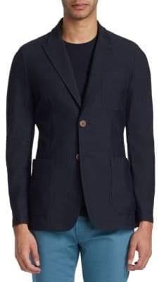 Giorgio Armani Solid Soft Blazer