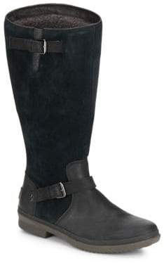 UGG Thomsen UGGpure-Lined Suede & Leather Boots