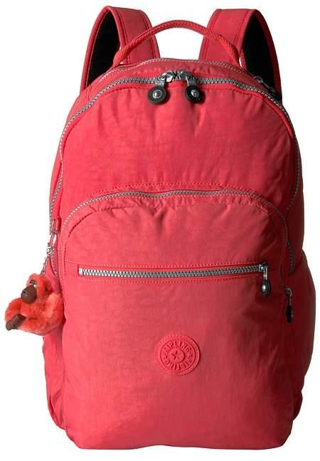 Kipling Seoul Large Backpack Bags - PAPAYA ORANGE - STYLE