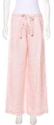 French Connection Cropped Linen Pants