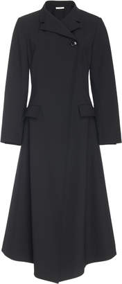 Co Stretch Wool Duster Coat