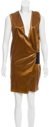 Reed Krakoff Coated Wrap Dress