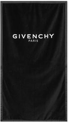 Givenchy Embroidered Logo Towel