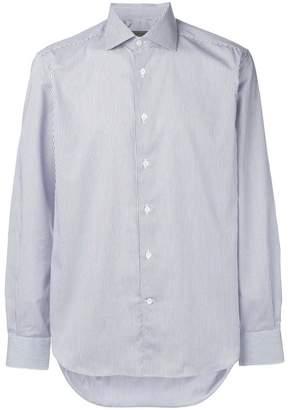 Corneliani stripe long-sleeve shirt