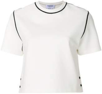 Thom Browne Contrast Stitch Milano Tech Tee